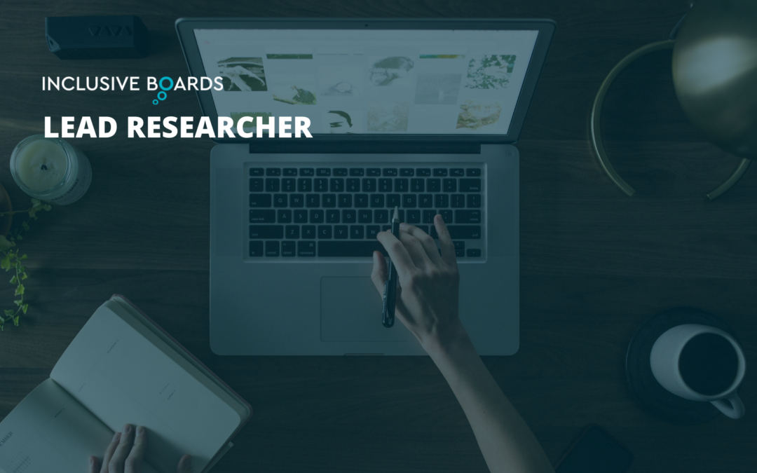 Work With Us – Lead Researcher Opportunity